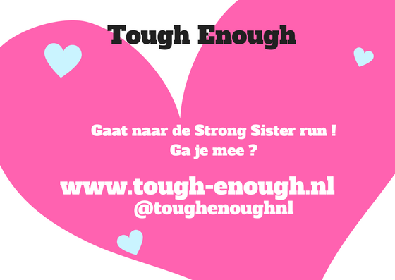 opgeven strong sister run tough enough