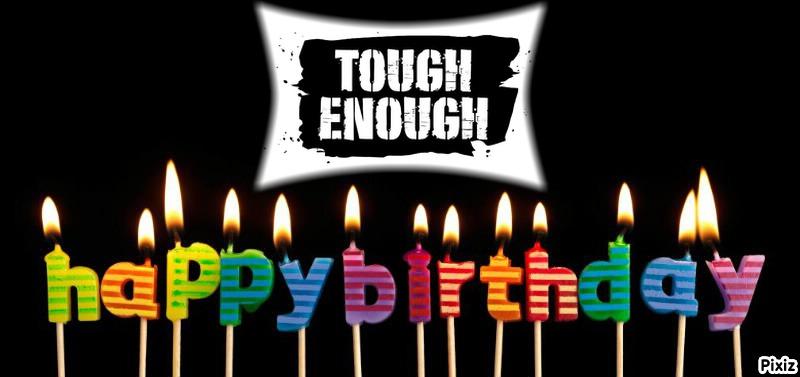 verjaardag Tough Enough