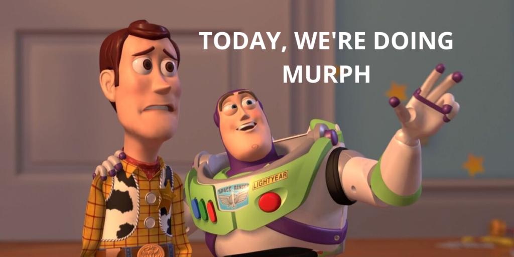 Today, we're doing Murph